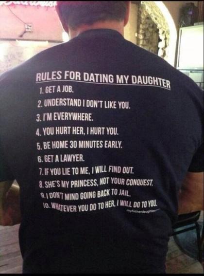 Ραντεβού με μη πατέρα κόρες