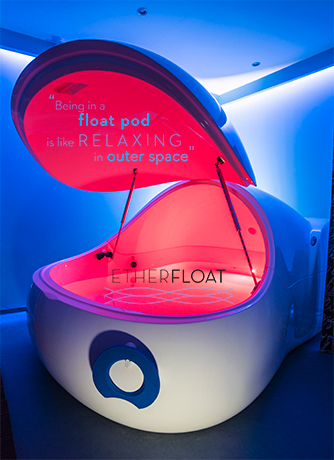 float in athens, etherfloat